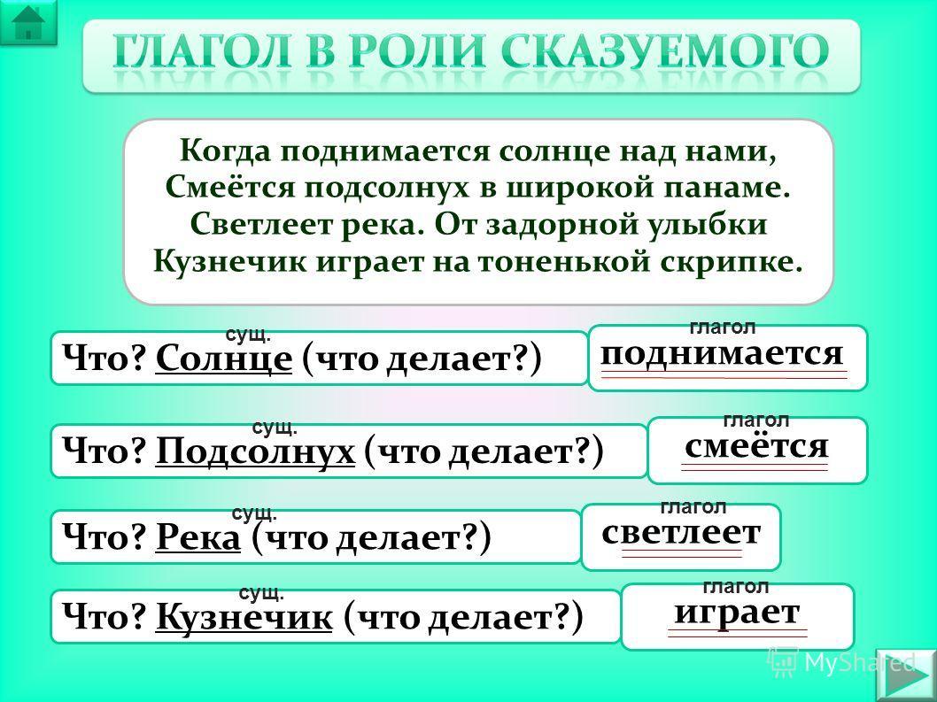 Скачать презентацию на тему глагол6 классм