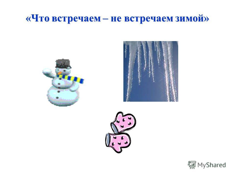 «Что встречаем – не встречаем зимой»