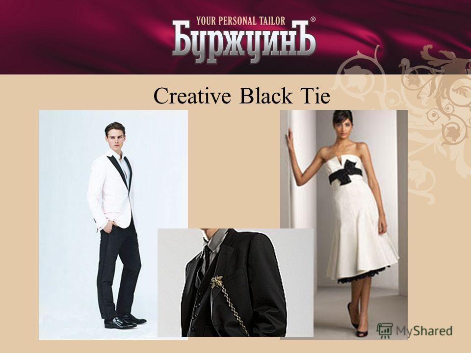 Creative Black Tie