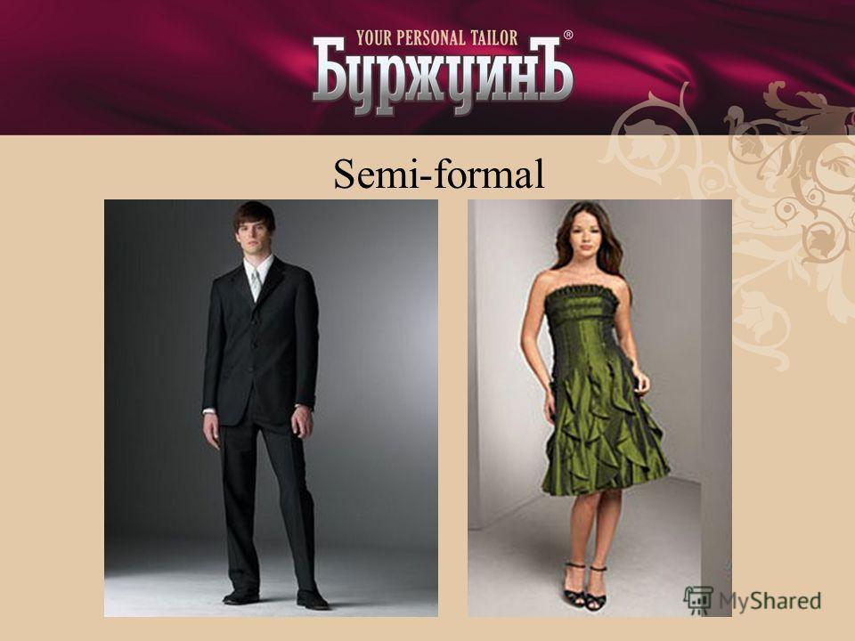 Semi-formal