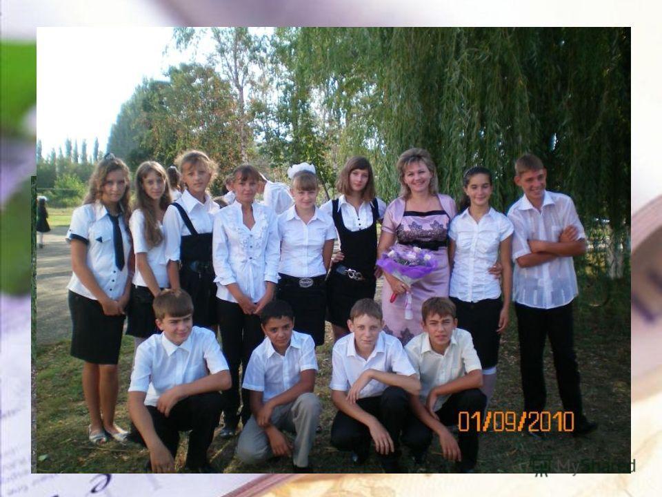 Малина Светлана Николаевна Классный руководитель 8 А класса