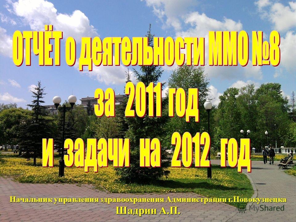 46 Начальник управления здравоохранения Администрации г.Новокузнецка Шадрин А.П.