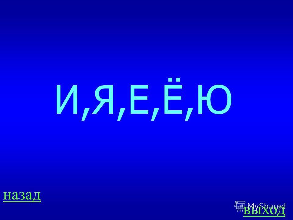 ЗВКИ ИБУКВЫ 100 Перечисли гласные буквы, которые обозначают мягкость согласных. ОТВЕТ