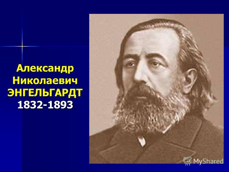 Александр Николаевич ЭНГЕЛЬГАРДТ 1832-1893