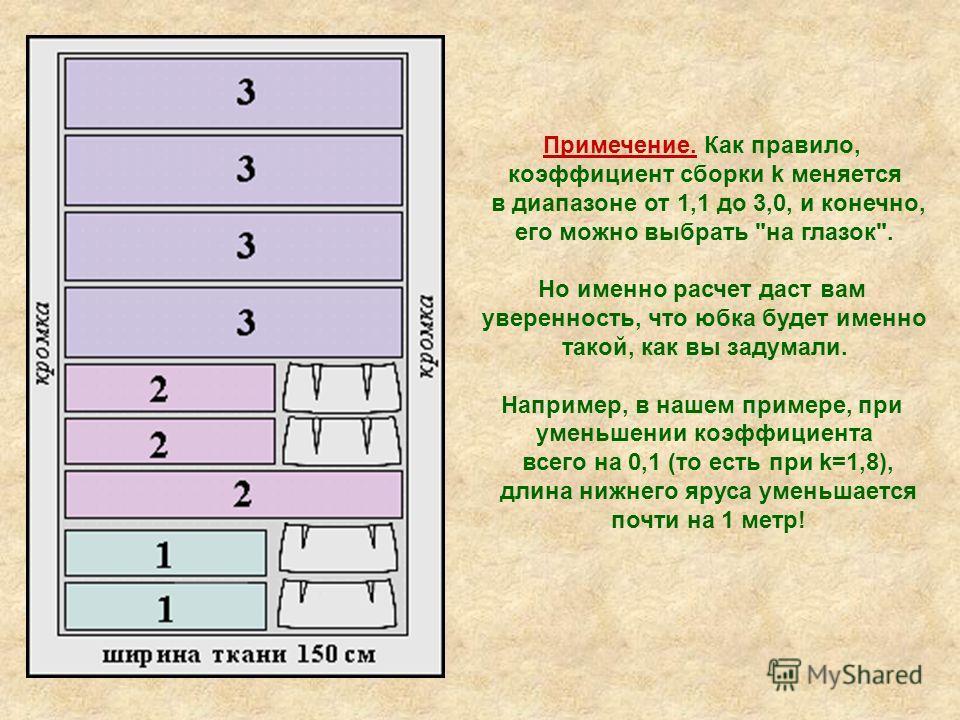 Примечение. Как правило, коэффициент сборки k меняется в диапазоне от 1,1 до 3,0, и конечно, его можно выбрать