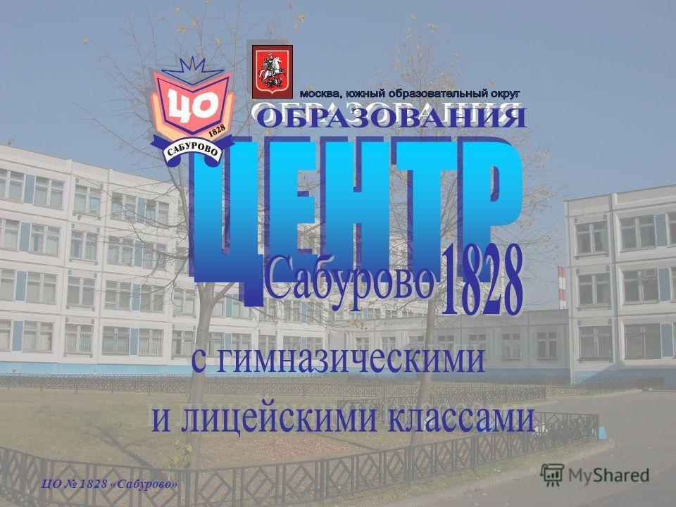 ЦО 1828 «Сабурово»