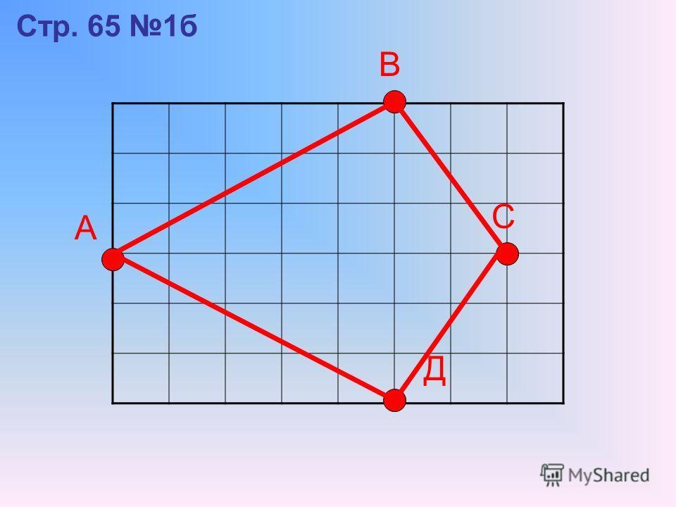 Стр. 65 1б А В С Д