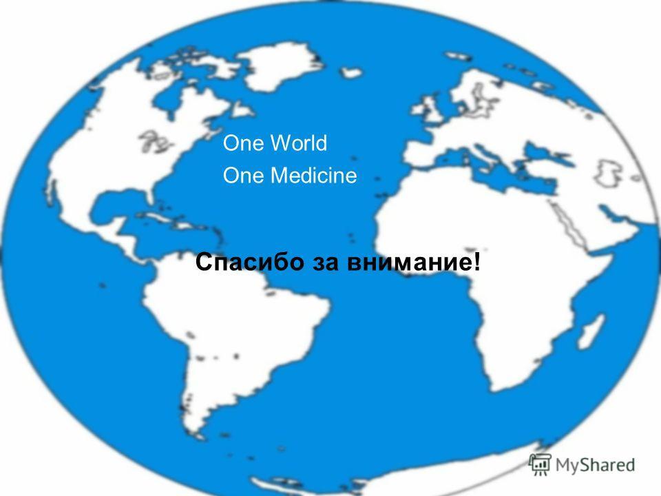 Moskau 28. September 2013 Russisch-Deutsches Symposium zur Qualitätssicherung Спасибо за внимание! One World One Medicine