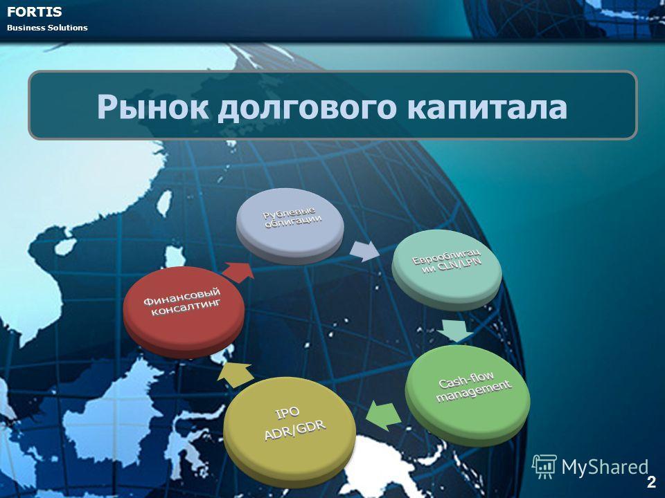 FORTIS Business Solutions 2 Рынок долгового капитала