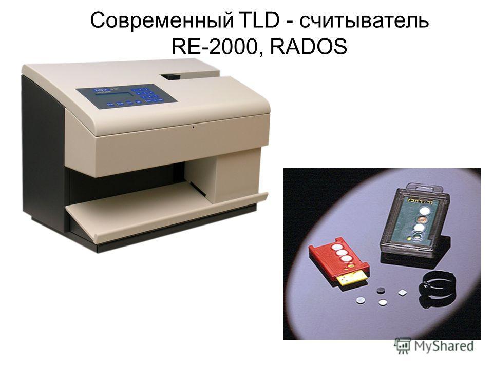 Современный TLD - считыватель RE-2000, RADOS