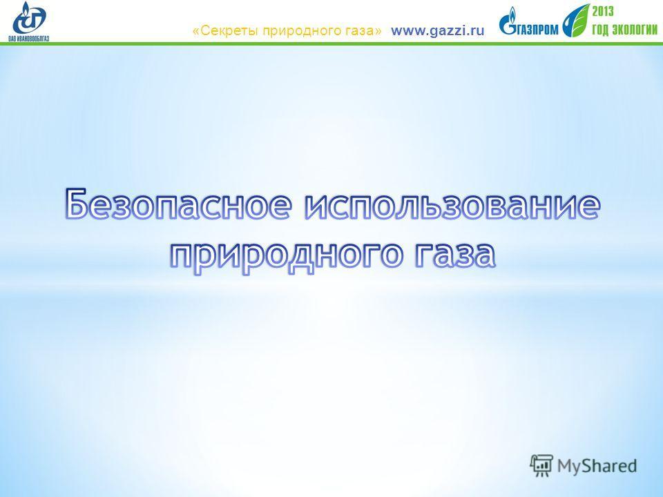 www.gazzi.ru«Секреты природного газа»