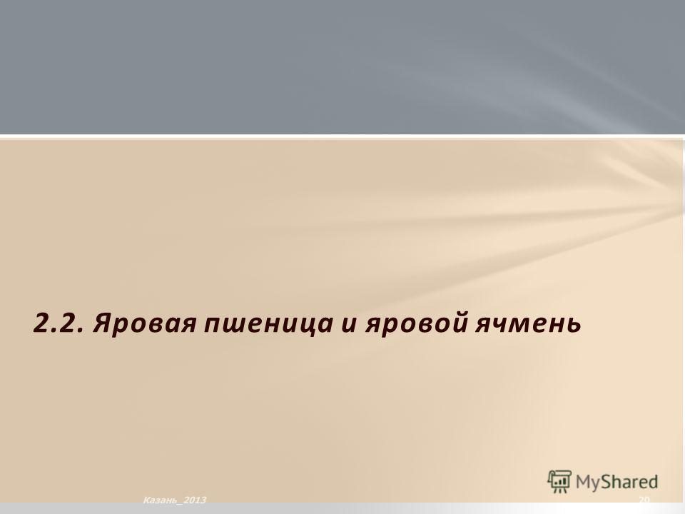 2.2. Яровая пшеница и яровой ячмень 20Казань_2013