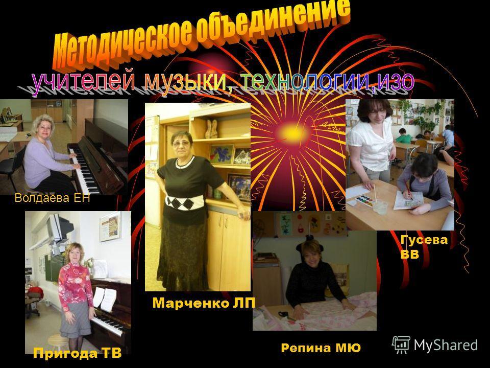 Волдаева ЕН Репина МЮ Пригода ТВ Марченко ЛП Гусева ВВ