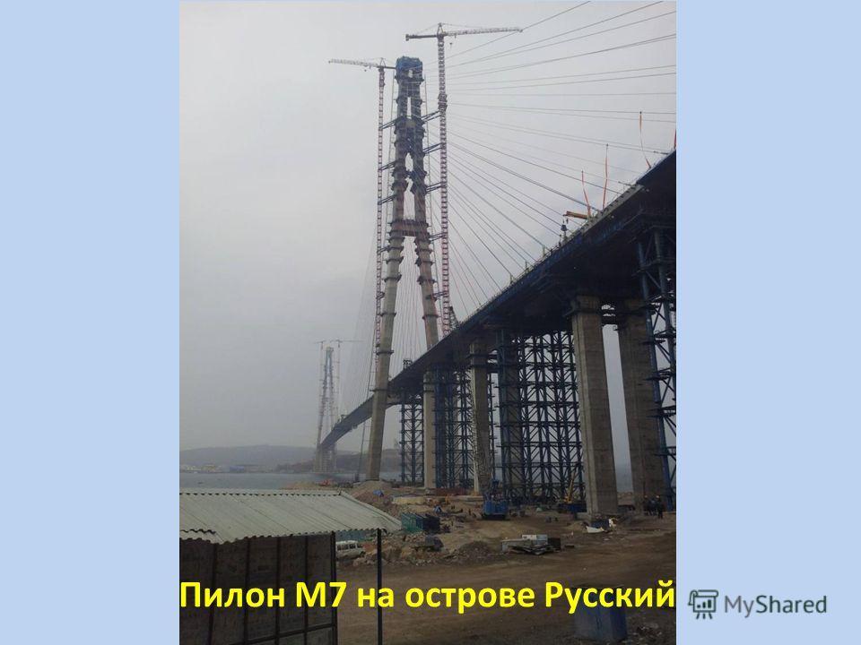 Пилон М7 на острове Русский