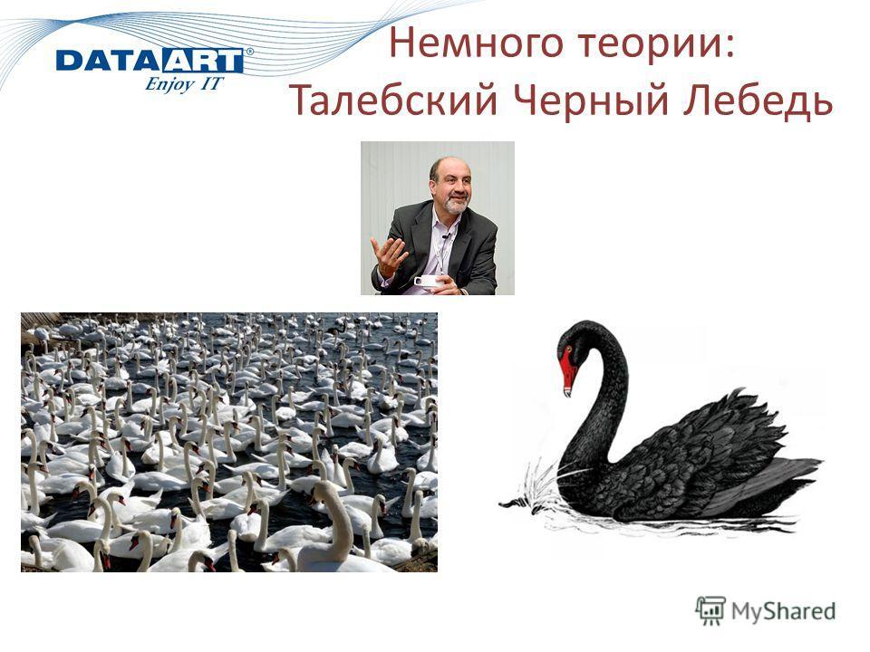 Немного теории: Талебский Черный Лебедь