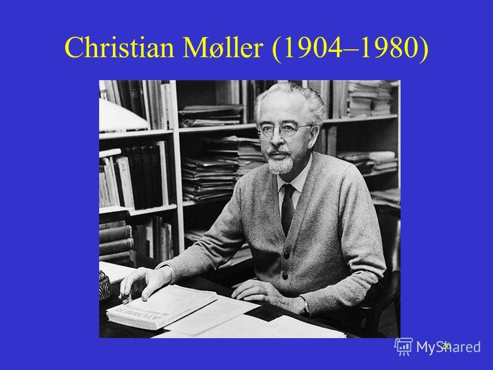 20 Christian Møller (1904–1980)