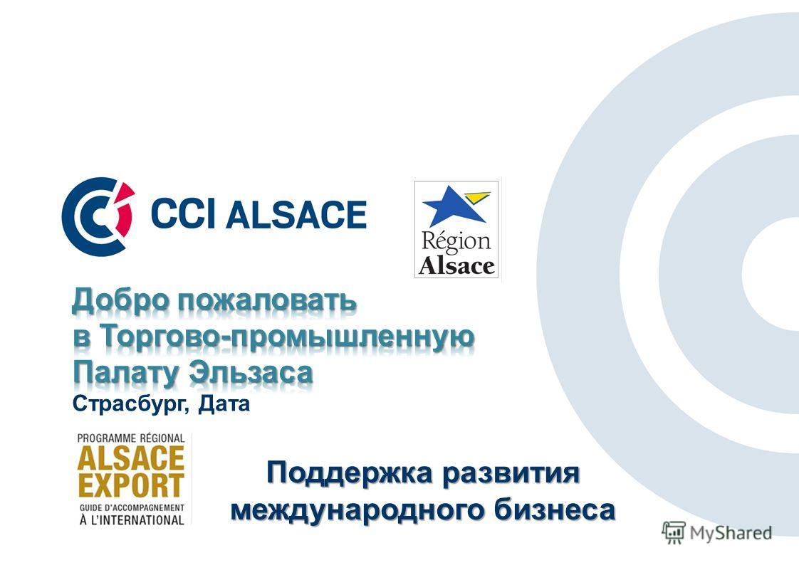 Поддержка развития международного бизнеса