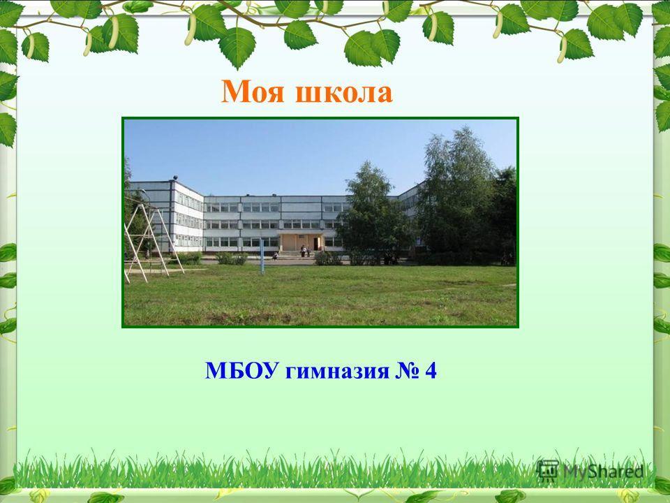 Моя школа МБОУ гимназия 4