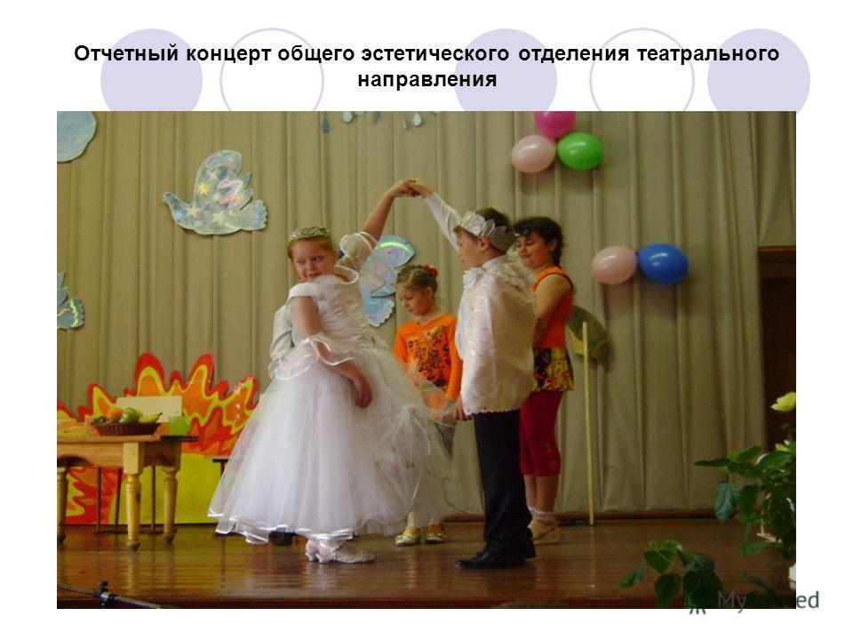 Отчетный концерт общего эстетического отделения театрального направления