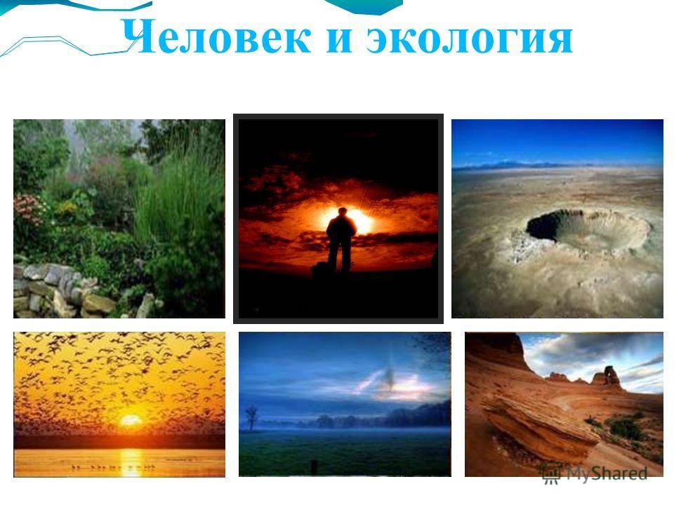 Человек и экология