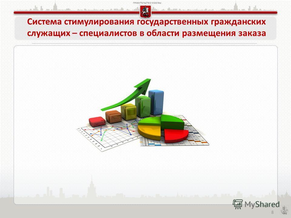 ПРАВИТЕЛЬСТВО МОСКВЫ 8 Система стимулирования государственных гражданских служащих – специалистов в области размещения заказа