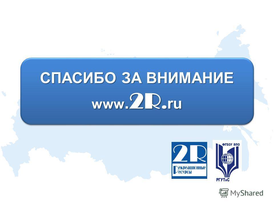 СПАСИБО ЗА ВНИМАНИЕ www. 2R. ru