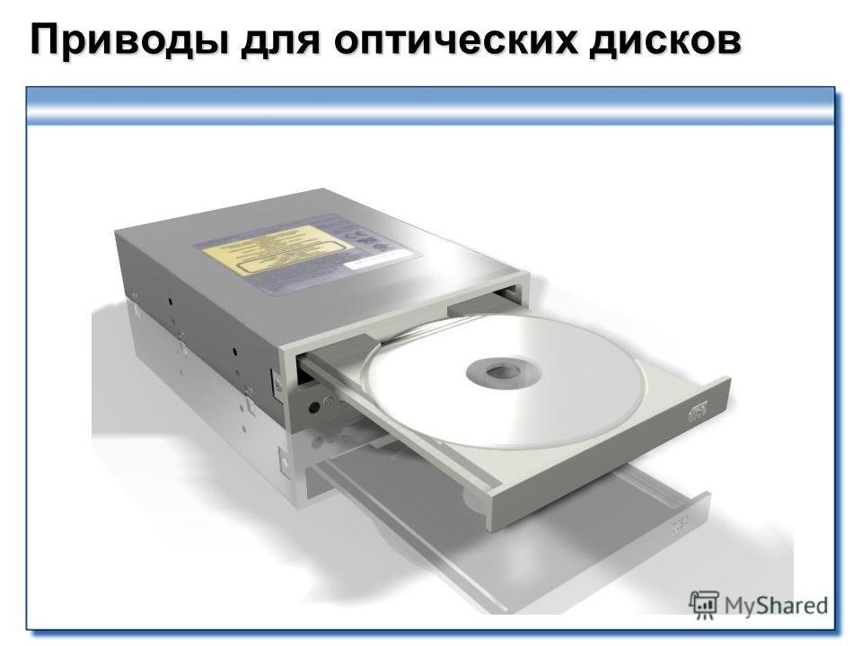 Приводы для оптических дисков