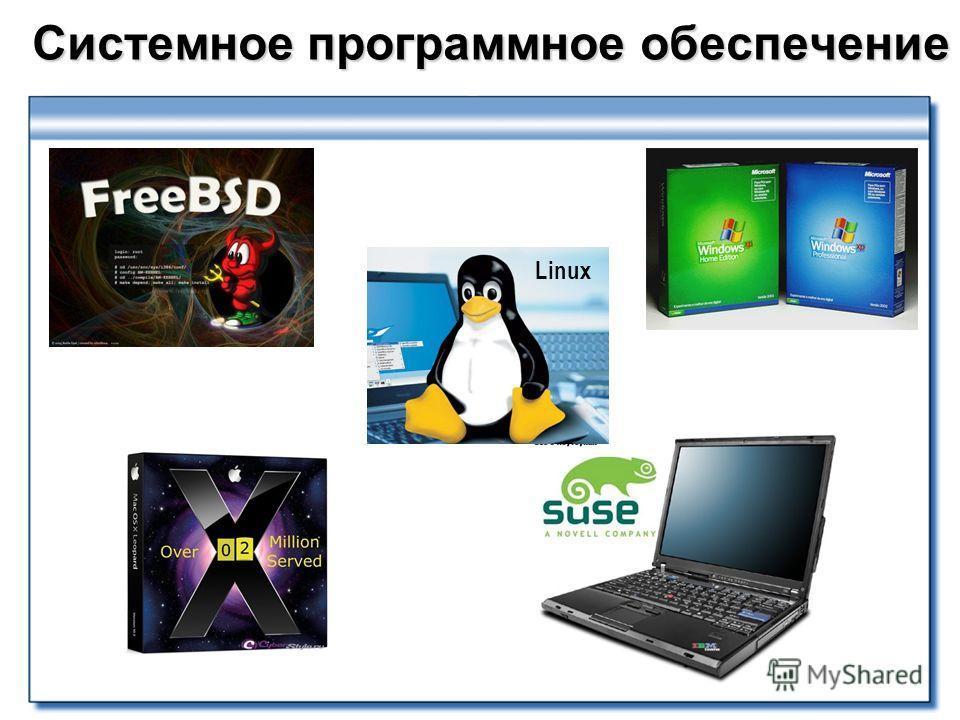 Системное программное обеспечение Linux