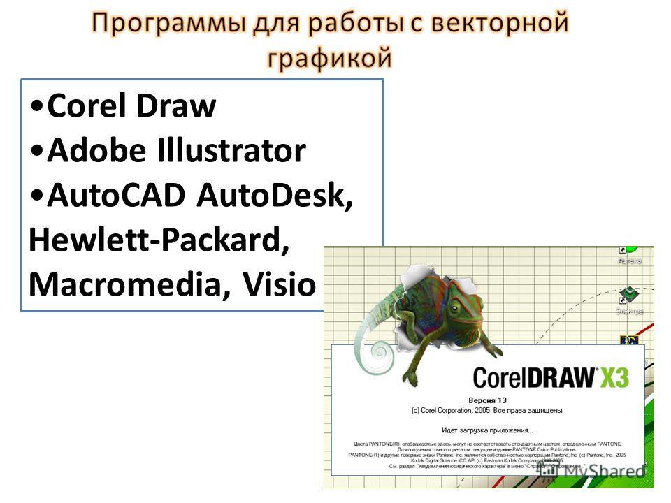 Векторный рисунок представляет собой совокупность примитивов, с каждым элементом векторного рисунка можно работать отдельно