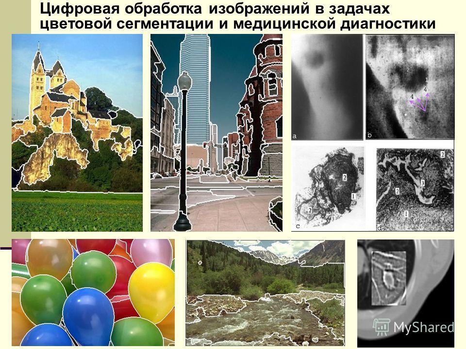 Цифровая обработка изображений в задачах цветовой сегментации и медицинской диагностики