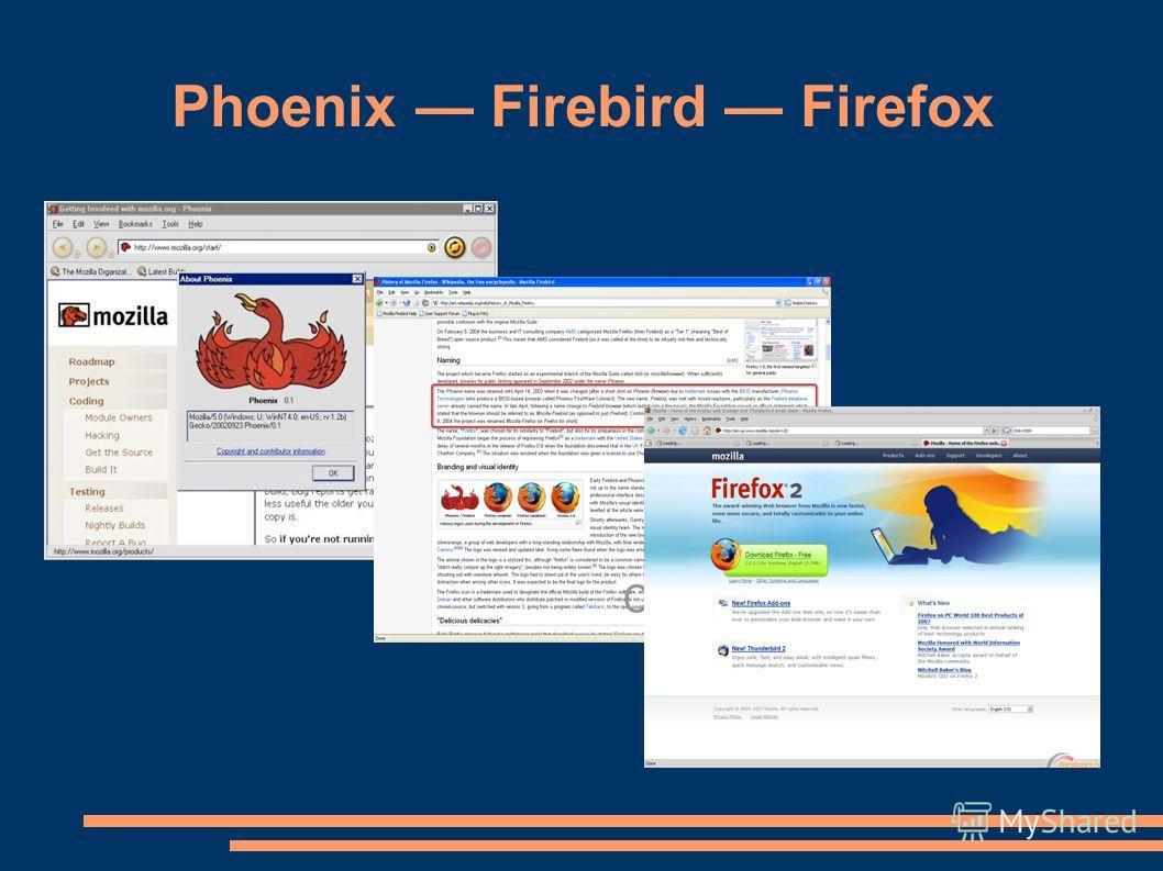 Phoenix Firebird Firefox