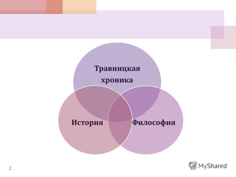 2 Травницкая хроника Философия История
