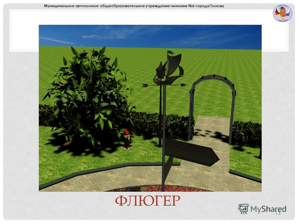 ФЛЮГЕР 13 Муниципальное автономное общеобразовательное учреждение гимназия 6 города Томска