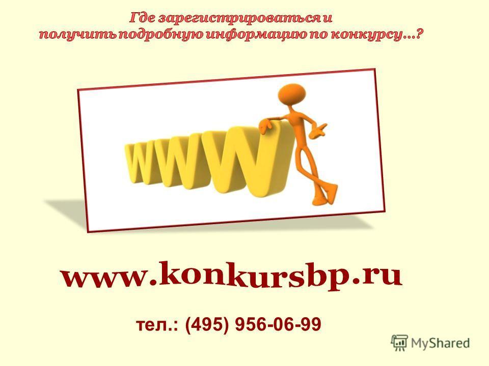 тел.: (495) 956-06-99