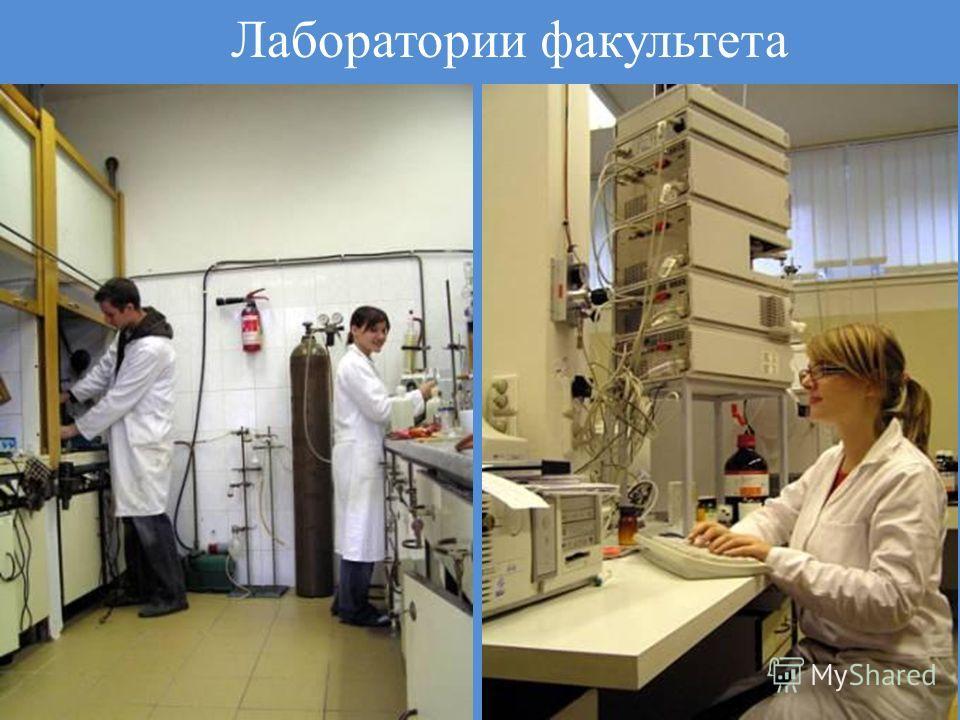 Лаборатории факультета 1. 2. 2010 10