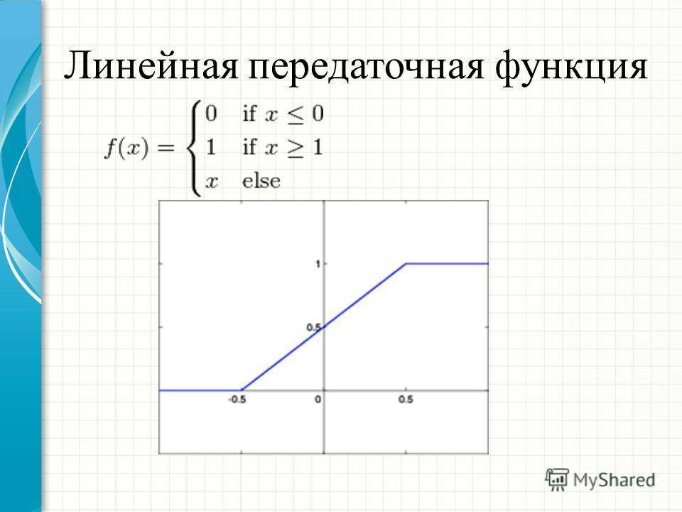 Линейная передаточная функция