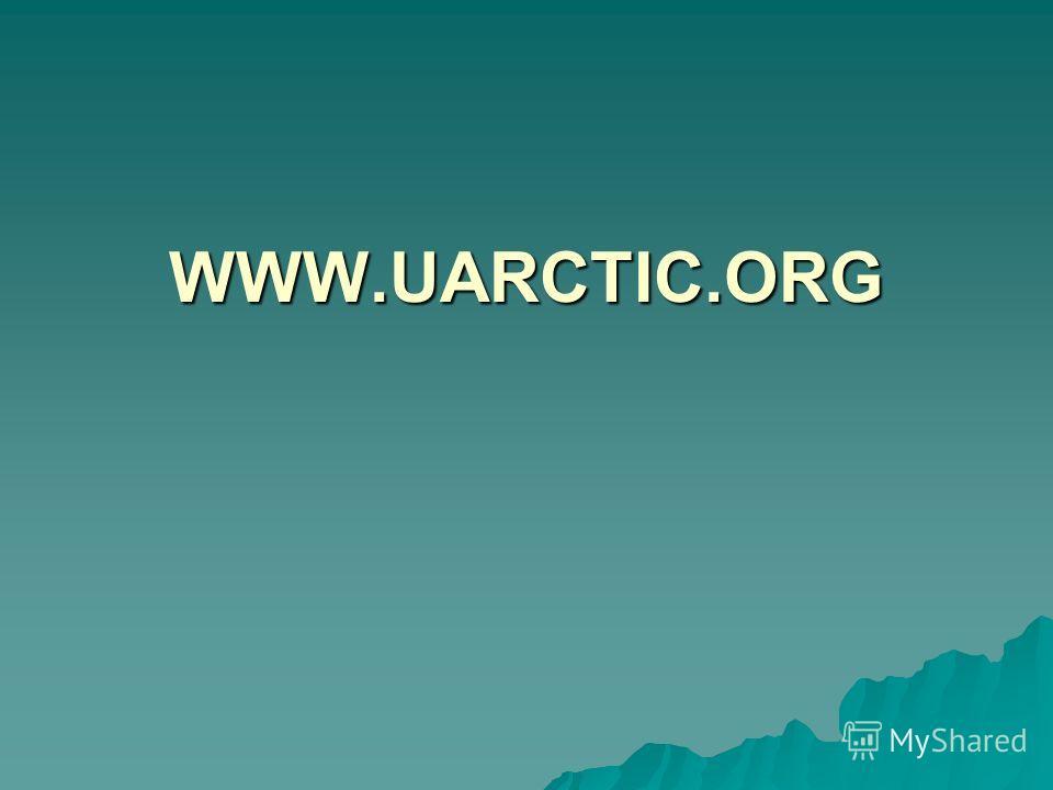 WWW.UARCTIC.ORG