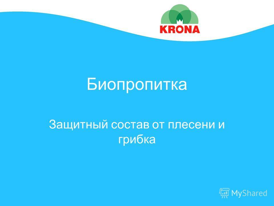 Биопропитка Защитный состав от плесени и грибка
