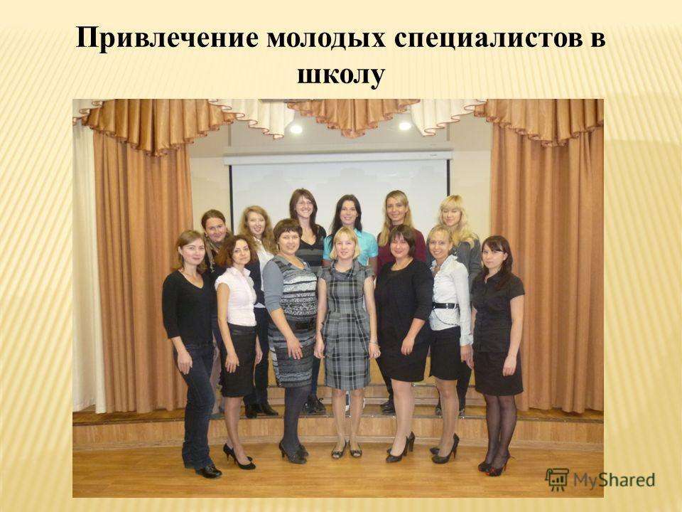 Привлечение молодых специалистов в школу