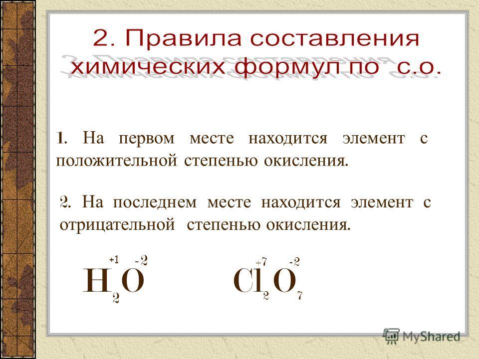 Задание 1. Определите степень окисления по формулам : Na 2 O; P 2 O 5 ; SO 3 ;CO 2 ; FeO; O 2 ; Cl 2