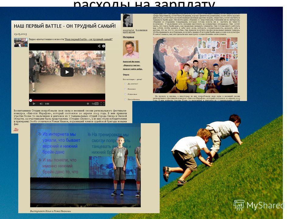 В настоящее время на нашей базе идёт реализация проекта «Студия «D плюс – Студия Олега Митяева» на основе авторской программы «Энергия движения», 20 детей из малообеспеченных и многодетных семей обучаются брейк дансу. (Слайд с тренировки). Проект реа