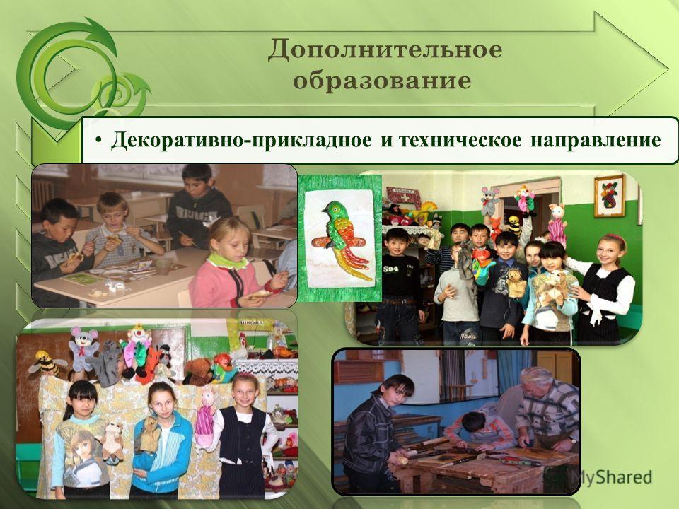 Дополнительное образование Декоративно-прикладное и техническое направление