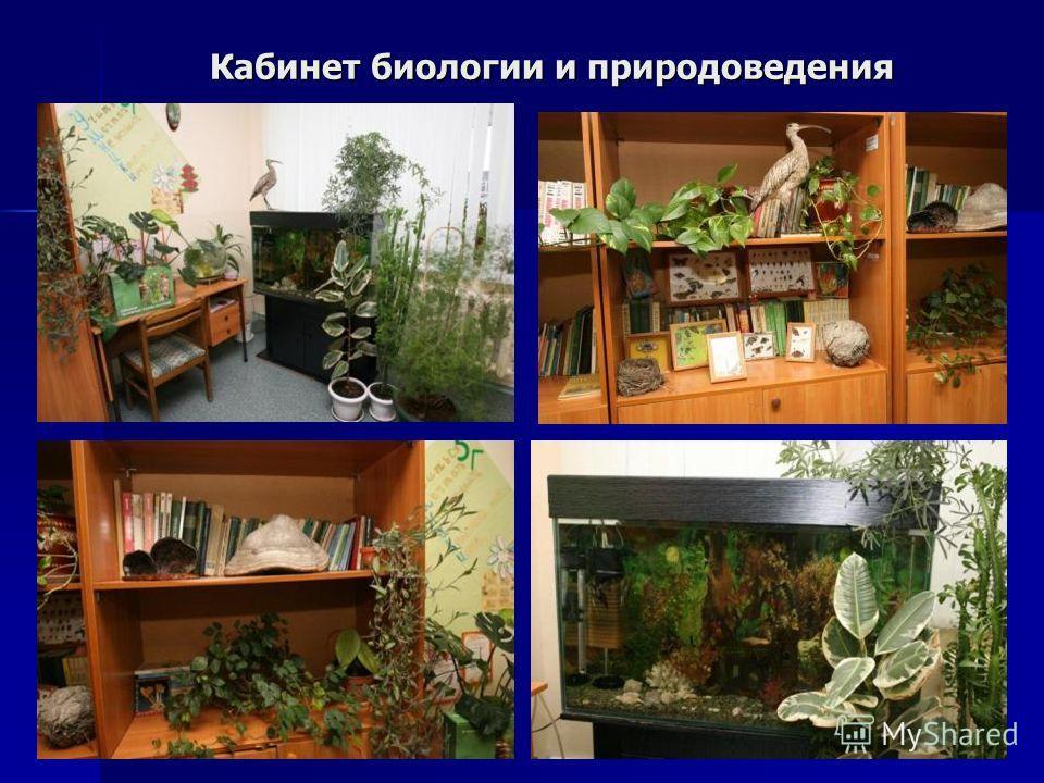 Кабинет биологии и природоведения