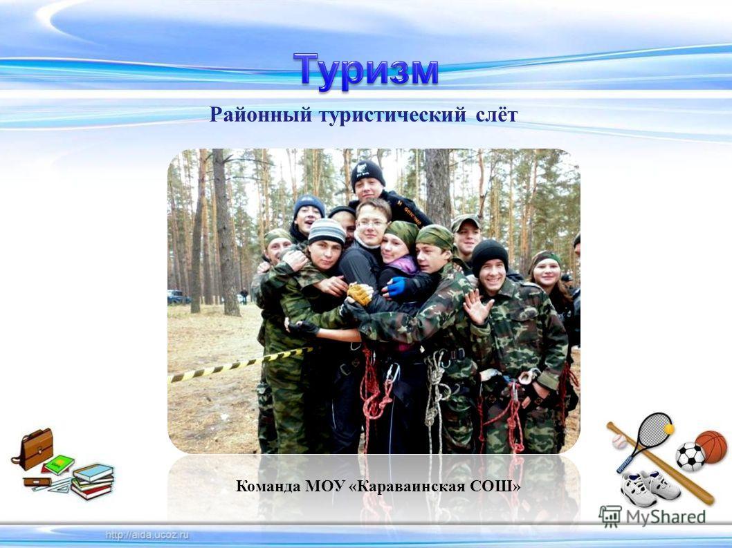 Районный туристический слёт Команда МОУ «Караваинская СОШ»