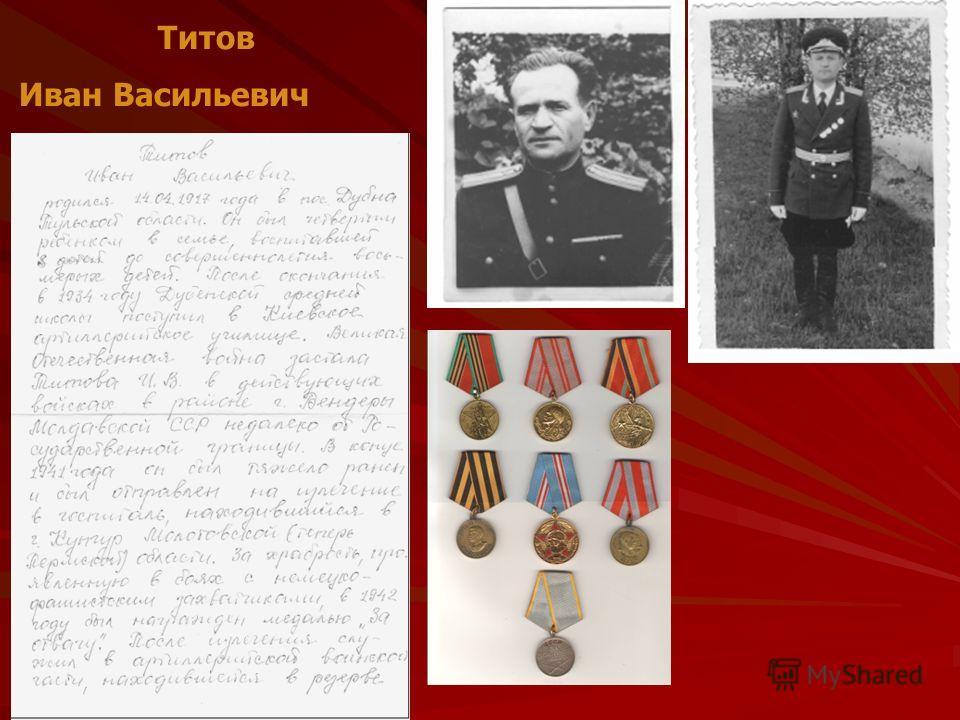 Титов Иван Васильевич