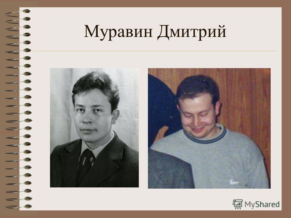 Муравин Дмитрий
