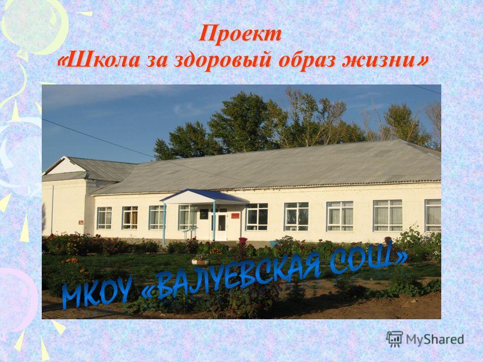 Проект « Школа за здоровый образ жизни »