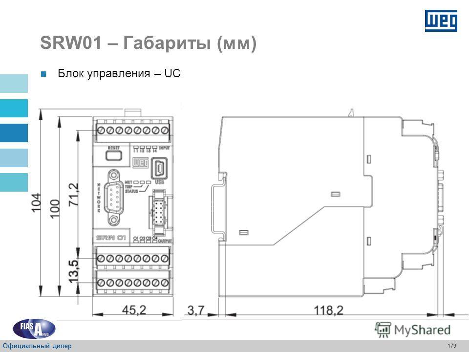 178 SRW01 – Таблица переключений Шина UMC Доступна только для UMC6. SRW01-BAR Официальный дилер