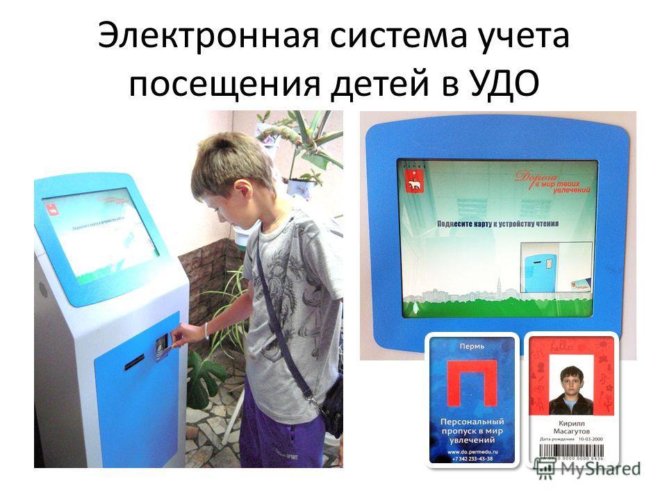 Электронная система учета посещения детей в УДО