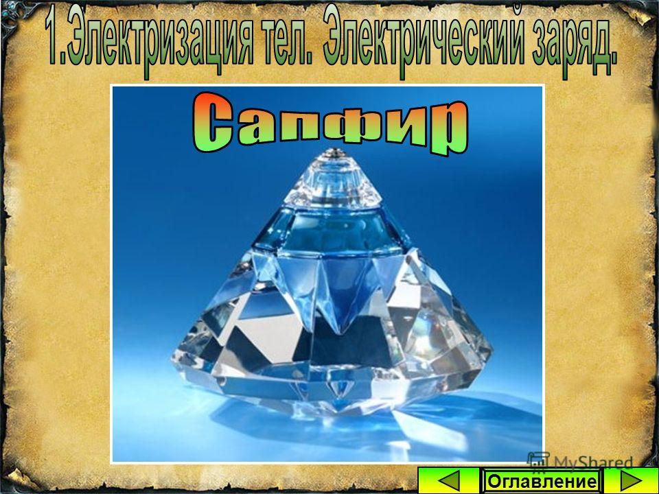 Он обнаружил, что подобными свойствами обладает не только натёртый янтарь, но и алмаз, сапфир, стекло и некоторые другие материалы, если потереть их о шёлк. Оглавление